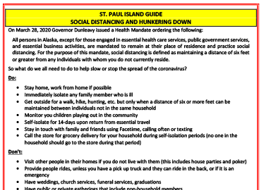 Guide to Social Distancing & Hunker Down